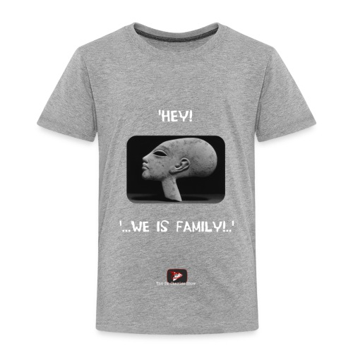 Hey, we is family! - Toddler Premium T-Shirt