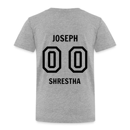 Joseph Shrestha's Jersey - Toddler Premium T-Shirt
