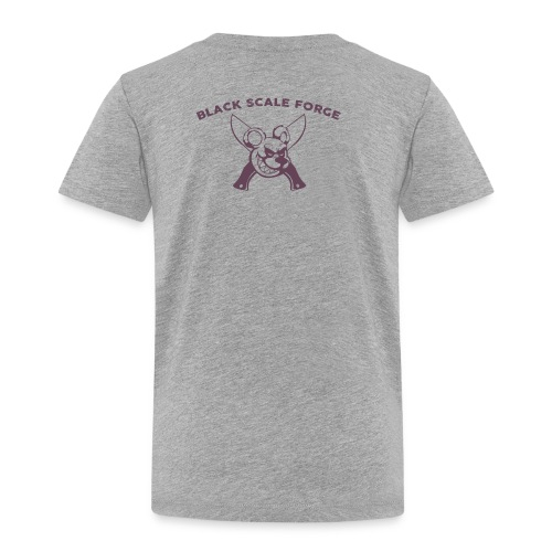 BSK Amok back - Toddler Premium T-Shirt