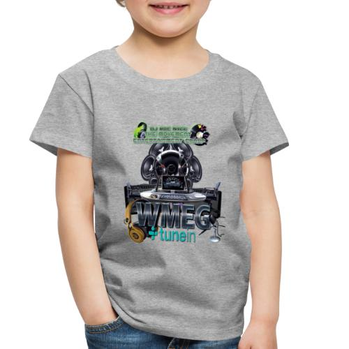 WMEG internet Radio logo - Toddler Premium T-Shirt