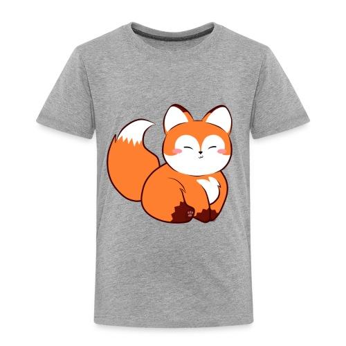 fat little baby fox - Toddler Premium T-Shirt