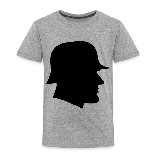Soldier silhouette - Toddler Premium T-Shirt