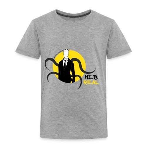 Slender Man is Real - Toddler Premium T-Shirt