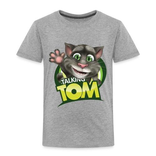 Talking_TOM_wave_preview_lowRes - Toddler Premium T-Shirt