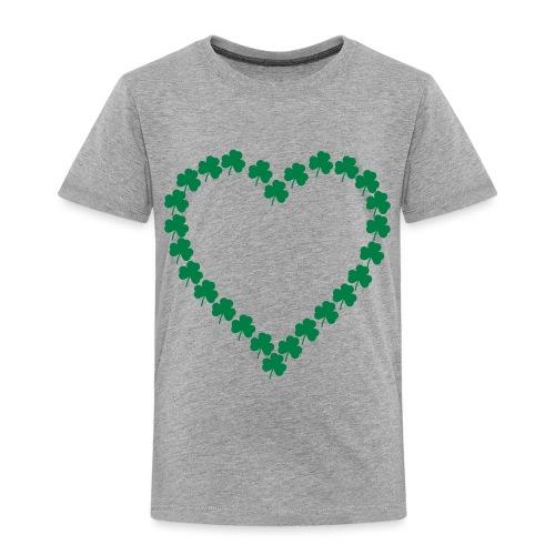 shamrock heart - Toddler Premium T-Shirt