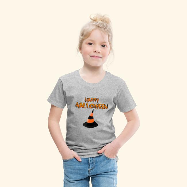 HAPPY HALLOWEEN WITCH HAT TEE