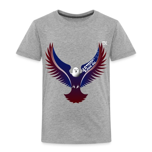 45EPIC EAGLE dx4/dt=ic Elliot McGucken Fine Art TM - Toddler Premium T-Shirt