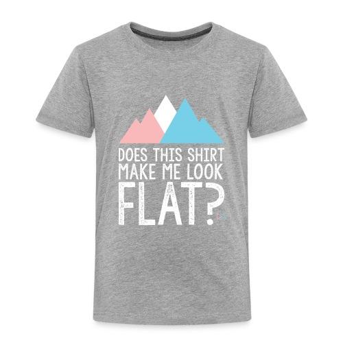 FLAT - Toddler Premium T-Shirt