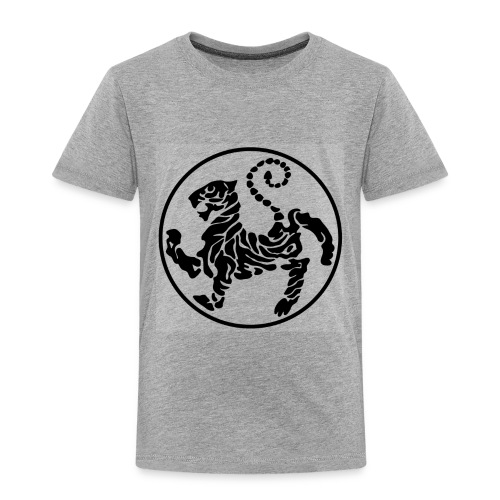 Shotokan-Tiger_black - Toddler Premium T-Shirt