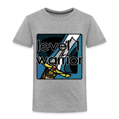 Warcraft Baby: Level 1 Warrior - Toddler Premium T-Shirt