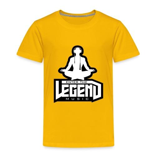 Enter The Legend Music B/W - Toddler Premium T-Shirt