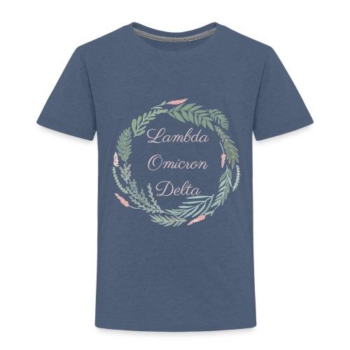 LOD Flower Wreath 1 - Toddler Premium T-Shirt