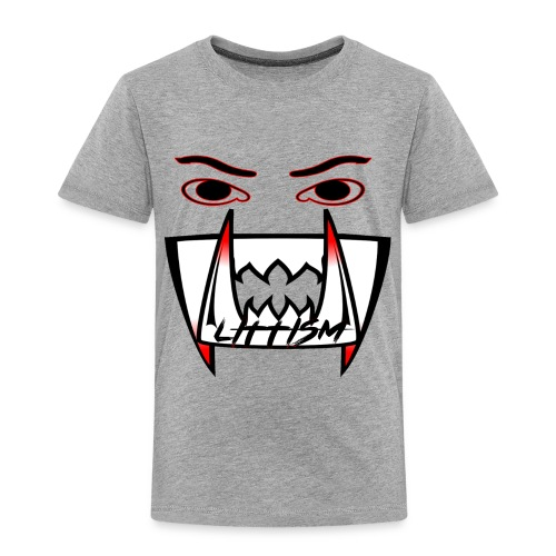 Littism Vampire Glory Face - Toddler Premium T-Shirt