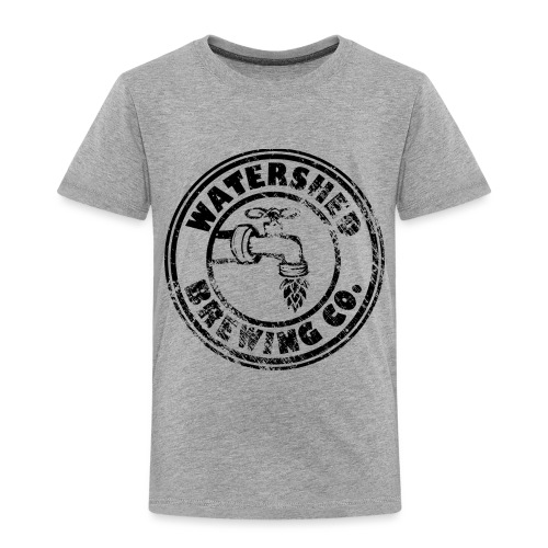 Watershed Faded Black - Toddler Premium T-Shirt