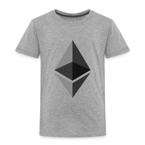ethereum icon brand - Toddler Premium T-Shirt