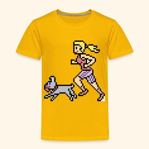 RunWithPixel - Toddler Premium T-Shirt