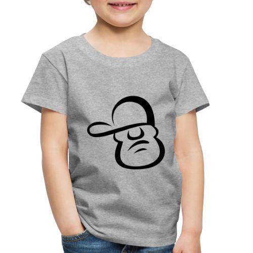 Cartoon Face - Toddler Premium T-Shirt