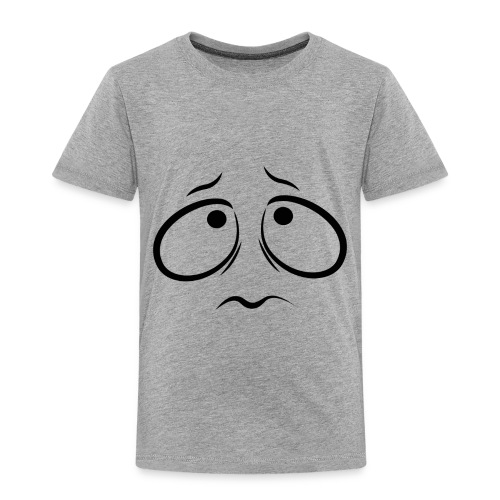 Sad face - Toddler Premium T-Shirt
