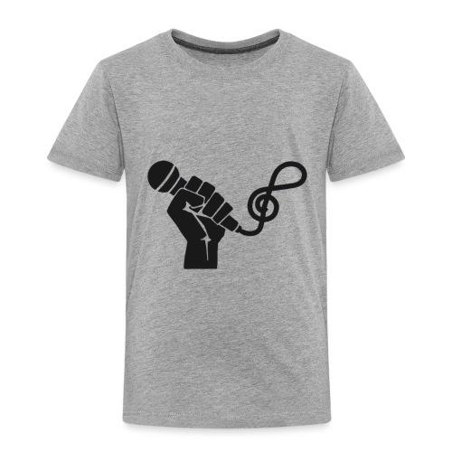 music microphone fist - Toddler Premium T-Shirt