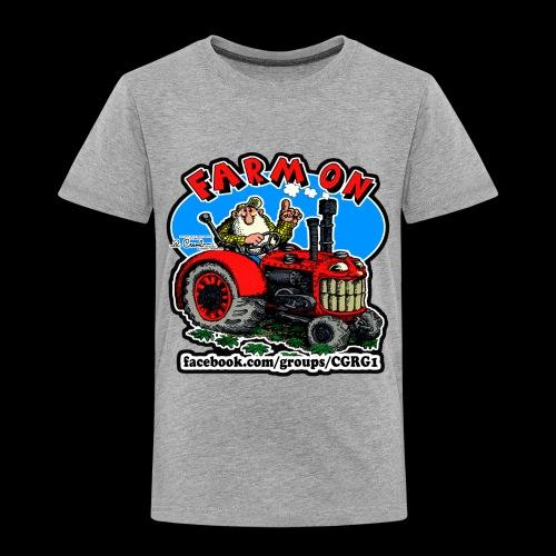 Mr Natural Farm On - Toddler Premium T-Shirt