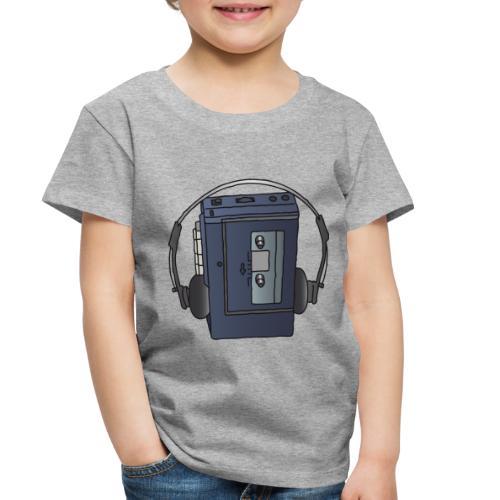 WALKMAN cassette recorder - Toddler Premium T-Shirt