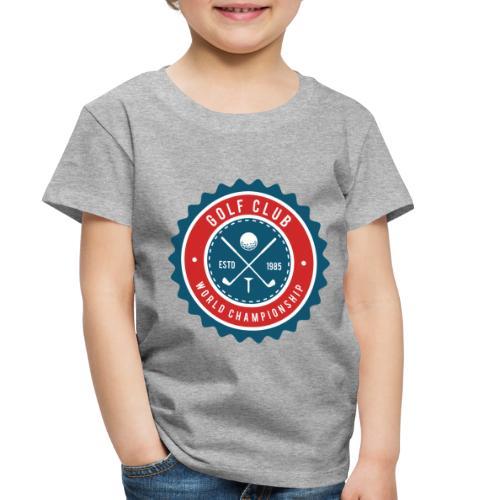golf club - Toddler Premium T-Shirt