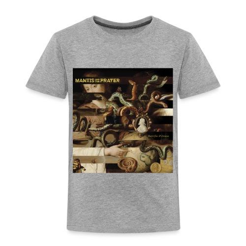 Mantis and the Prayer- Butterflies and Demons - Toddler Premium T-Shirt