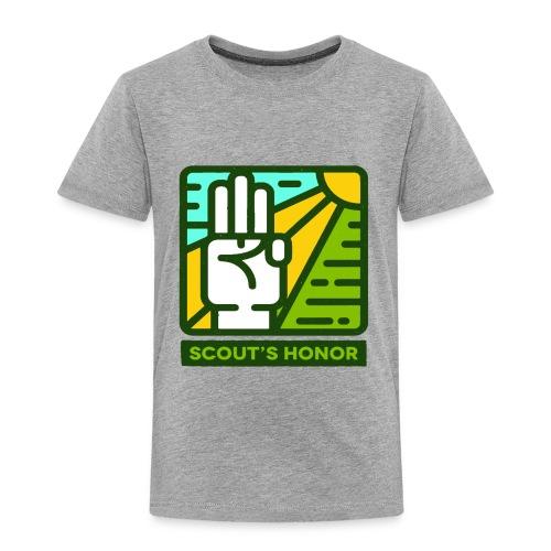 scouts honour - Toddler Premium T-Shirt