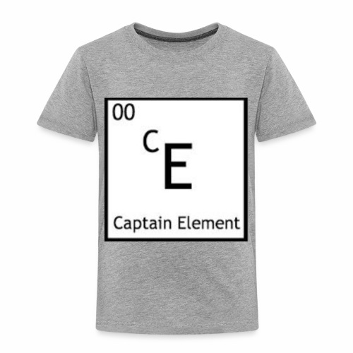 Captain Element Logo - Toddler Premium T-Shirt