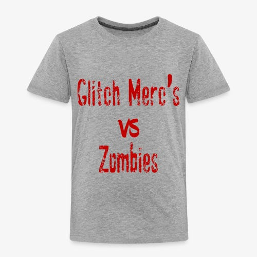 glitch zombie red - Toddler Premium T-Shirt
