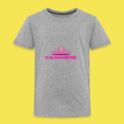 Ca$hmere Blocked - Toddler Premium T-Shirt
