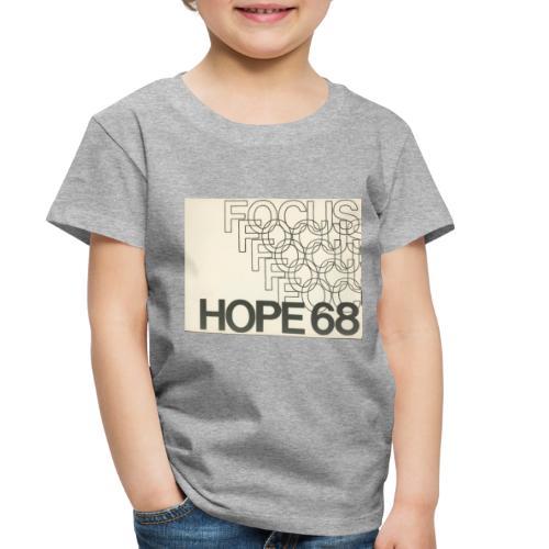 Vintage Focus: HOPE Logo - Toddler Premium T-Shirt