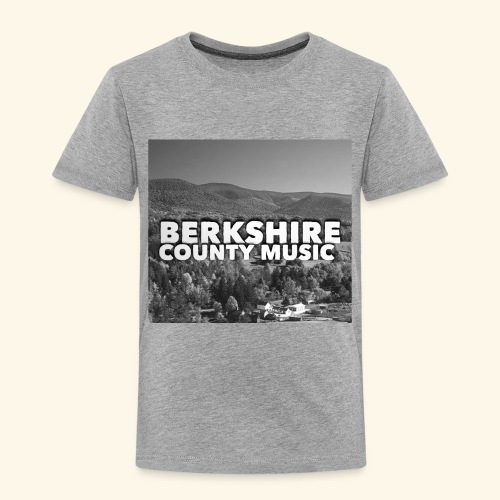 Berkshire County Music Black/White - Toddler Premium T-Shirt