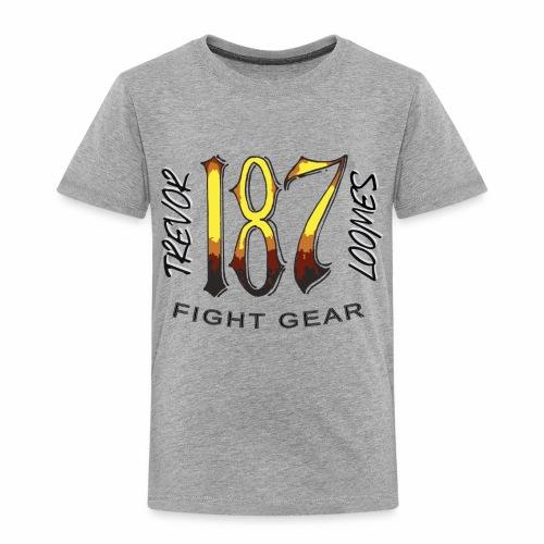 Coloured Trevor Loomes 187 Fight Gear Logo - Toddler Premium T-Shirt