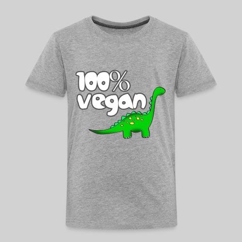 DINO VEGAN - Toddler Premium T-Shirt