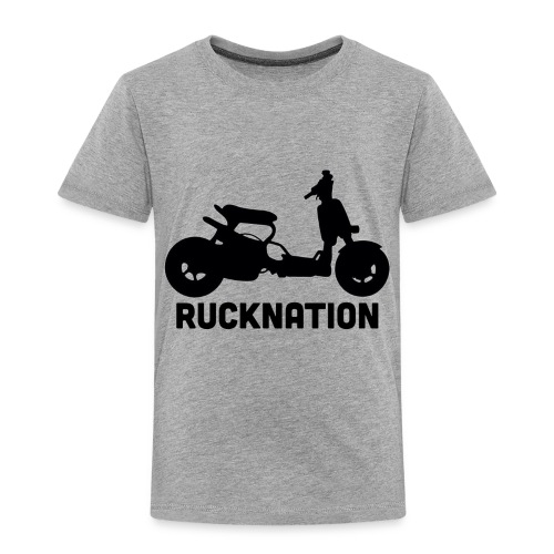 Ruckus rucknation - Toddler Premium T-Shirt