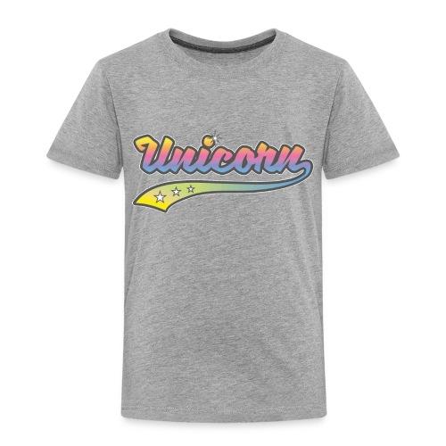 Unicorn Sport - Toddler Premium T-Shirt