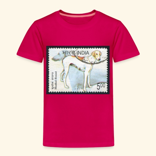 India - Mudhol Hound - Toddler Premium T-Shirt