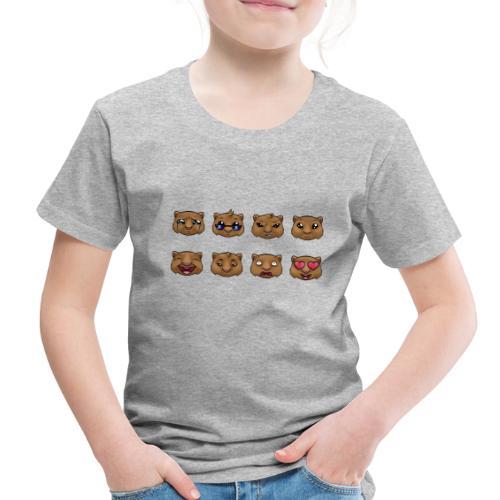 Wombat Feelings - Toddler Premium T-Shirt