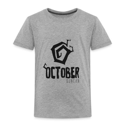 October Duncan2 01 png - Toddler Premium T-Shirt