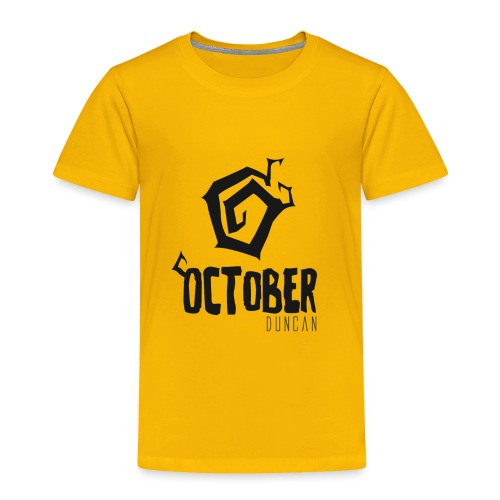 October Duncan2 01 png - Toddler Premium T-Shirt