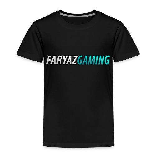 FaryazGaming Theme Text - Toddler Premium T-Shirt