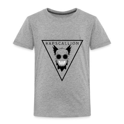 Rapscallion Tri Tee on Light - Toddler Premium T-Shirt