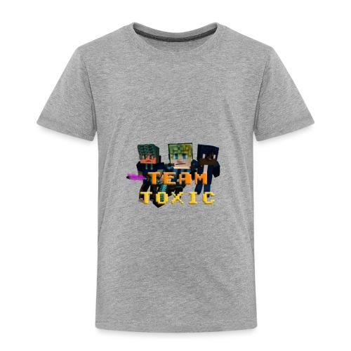 TeamToxic Merch Design 1 - Toddler Premium T-Shirt