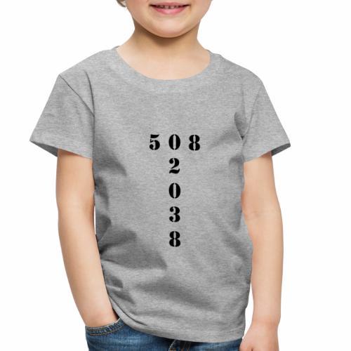 508 02038 franklin area/zip code - Toddler Premium T-Shirt