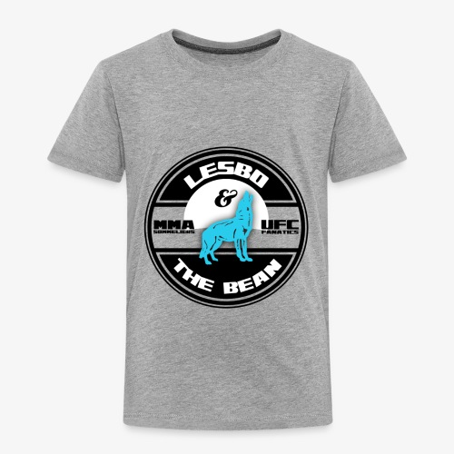 Lesbo and The Bean Logo - Toddler Premium T-Shirt