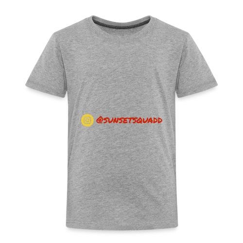 SunsetSquadd Handle - Toddler Premium T-Shirt