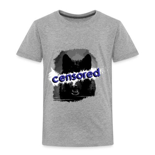 Wolf censored - Toddler Premium T-Shirt