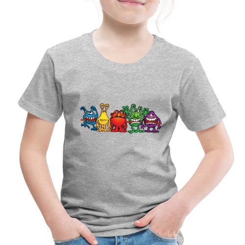 Alien Friends - Toddler Premium T-Shirt