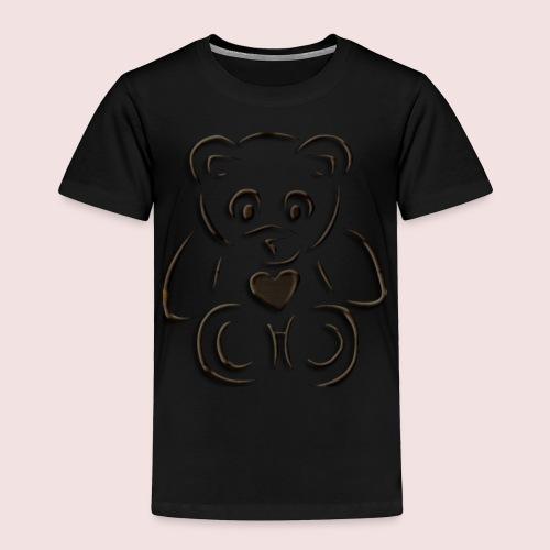 realistic teddy - Toddler Premium T-Shirt